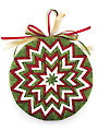 Bursting Star No-Sew Ornament Pattern
