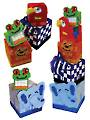 Plastic Canvas Jungle Baby Blocks