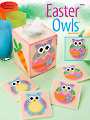 Plastic Canvas Easter Owls