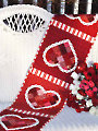 Patchwork Valentine Table Runner Pattern