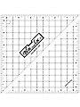 """Bloc Loc Half Square Triangle Square Up Ruler 6.5"""""""