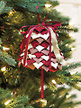 Silver Bells No-Sew Ornament Pattern