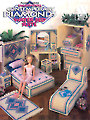 Fashion Doll Contemporary Diamonds Water Bed Suite