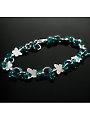 Butterfly Kisses Bracelet Kit Peacock/Silver