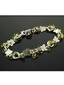 Butterfly Kisses Bracelet Kit Peridot/Silver