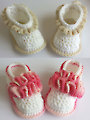 Crochet Baby Booties Set 1