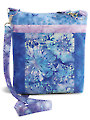 Designer Cross-Body Bag Wisteria Fabric Pack
