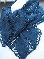 Drop Leaf Scarf Knit Pattern