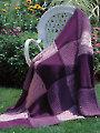 Patchwork Trio Afghan Knit Pattern