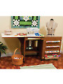 Sewnatra Sewing Cabinet - Oak