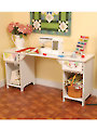 Olivia Sewing Cabinet - White