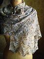 Hillflowers Scarf/Wrap Knit Pattern