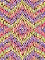 Jeweled Starburst Bargello Quilt Pattern