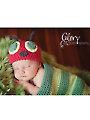 Caterpillar Hat & Cocoon Crochet Set