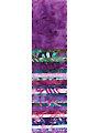 Purple Reign Batik Jelly Roll - 24/pkg.