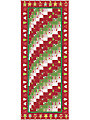 Christmas Rainbow Bargello Table Runner Pattern
