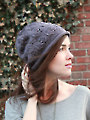 Plum Tree Slouch Hat Knit Pattern
