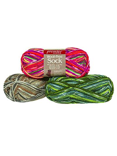 Premier® Yarns Wool-Free Sock