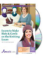 Learn to Make Hats & Cowls on the Knitting Loom Class DVD