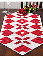 Hearts of Fire Table Runner Pattern