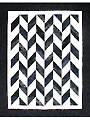 Strip Tube Herringbone Quilt Pattern