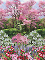 "Botanic Garden Panel - 32"" x 44"""