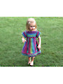 Crocodile Stitch Girly Dress Crochet Pattern