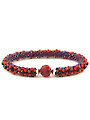 Red Velvet Crochet Bracelet Kit