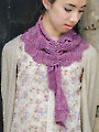 Battenburg Lace Scarf Knit Pattern