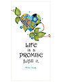"Mother Teresa ""Life Promise"" Art Panel - 6"" x 12"""