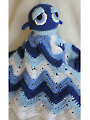 Whale Huggy Blanket Crochet Pattern