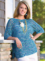 Shining Sea Tee Crochet Pattern