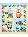 Woodland Babies Quilt Pattern