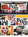 Halloween Boo! Bench Pillow Sewing Pattern