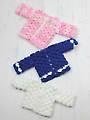 Crocodile Cardigan Crochet Pattern