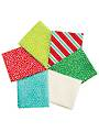 Christmas Through the House Fat Quarters - 6/Pkg.