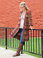 No Seams Cardigan Crochet Pattern