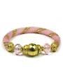 Pink on Pink Bead Crochet Bracelet Kit