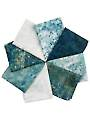 Stonehenge Gradations Blue Planet Fat Quarters - 8/Pkg.