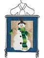 Cozy Snowman Mini Wall Hanging Pattern