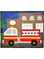 Fire Engine Quilt Pattern