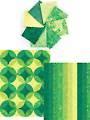 Ambience Emerald Isle Roll - 8 Fat Quarters & 2 (1/2)-Yard Cuts