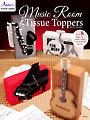 Music Room Tissue Toppers Plastic Canvas Pattern