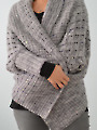 Two-Way Wrap Cardigan Knit Pattern
