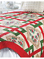 Crisscross Christmas Quilt Pattern