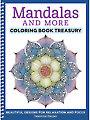 Mandalas & More Coloring Book Treasury