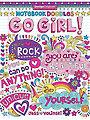Notebook Doodles Go Girl Coloring Book