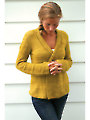 Olive Basket Cardigan Knit Pattern