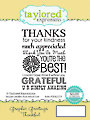 Thankful Graphic Greeting Stamp