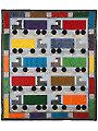 I Love Semi Trucks Quilt Pattern